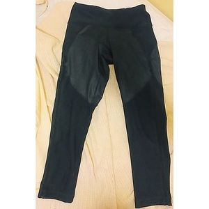 90 Degree by Reflex Athletic Leggings Faux Leather